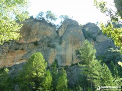 Río Escabas-Serranía Cuenca; viajes puente de la constitucion vacaciones caños de meca valles occ